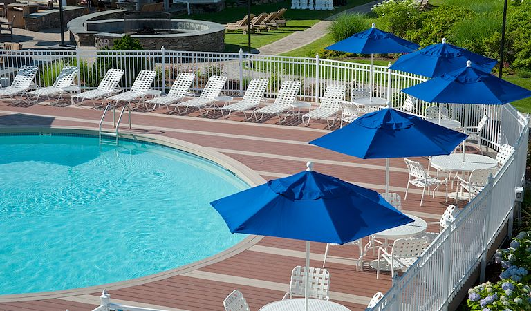 Outdoor Pool at Hyannis Harbor Hotel